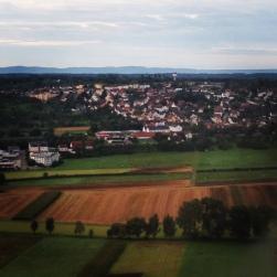 Landing in Stuttgart