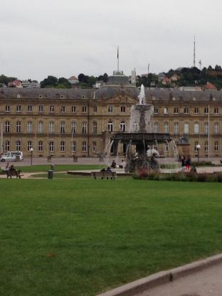 Schlossplatz: Schloss (Castle) Platz (Space)