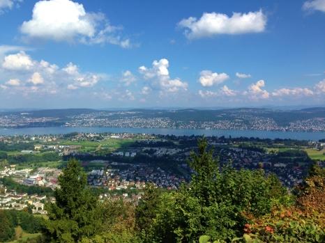 Hike Uetliberg Zurich
