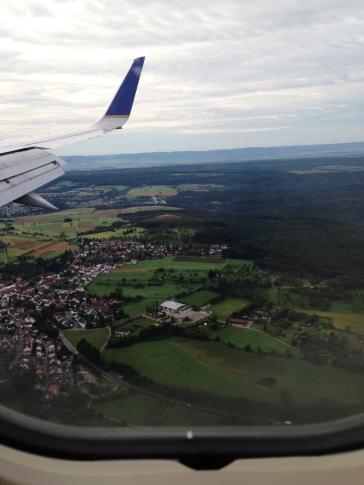 Arriving in Stuttgart