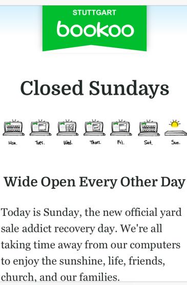 Bookoo Closed