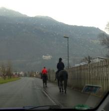 Arriving in Lichtenstein