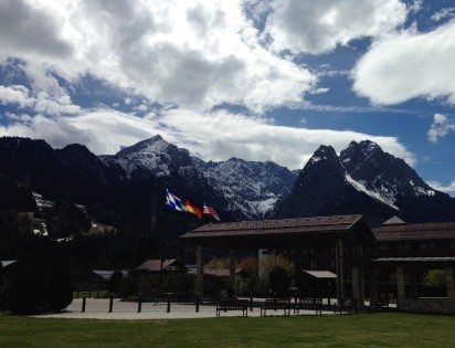 Hotel view in Garmisch forbetterorwurst.com