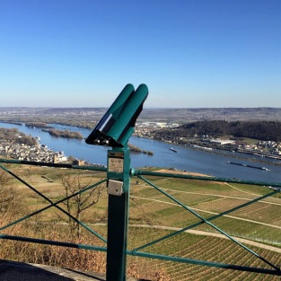 View from Niederwalddenkmal Statue