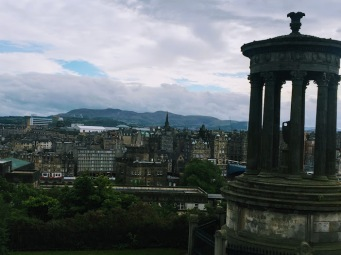 calton hill by hdw