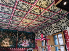 Inside a room in Stirling Castle