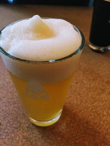 Omnipollo Hat Mango Ice Beer - it's like a slushy on top of the mango beer. Great for summer, too light for the cold weather.